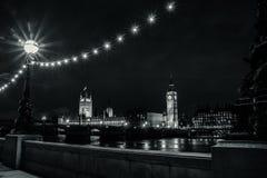 Parlament & Big Ben Royaltyfri Bild
