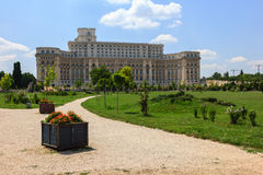 Parlament - Bucarest image stock