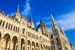 Parlament in Budapest Stockfotografie