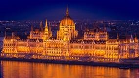 Parlament Budapest Fotografie Stock