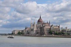 Parlament in Budapest, Ungarn Stockbilder