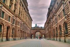 Parlament building, Stockholm Stock Photos