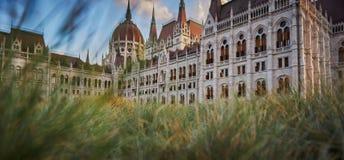 Parlament de Budapest foto de archivo libre de regalías