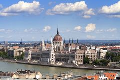 Parlament di Budapest Immagini Stock