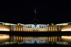 Parlament Domowy Canberra Australia Zdjęcia Royalty Free