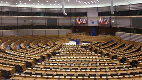 Parlament europeo Immagine Stock