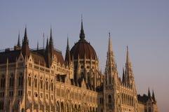 parlament för budapest byggnadsungrare royaltyfri bild