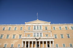 parlament för grek 11 Arkivfoton
