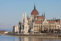 parlament för budapest byggnadsungrare royaltyfria foton