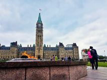 Parlament-Gebäude stockbild