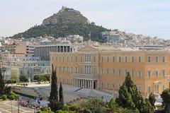 Parlament Grekland Arkivfoton