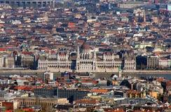 Parlament hongrois Photos libres de droits
