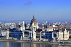 parlament hungarian Fotografia Stock