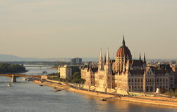 Parlament of Hungary Royalty Free Stock Image