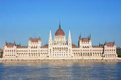 Parlament i budapest Royaltyfri Fotografi