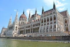 Parlament i budapest Royaltyfri Foto