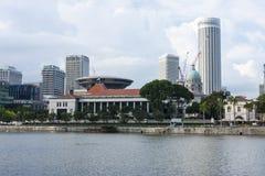 Parlament i Singapore, Royaltyfri Foto