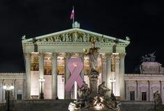 Parlament i Wien Österrike Royaltyfri Fotografi