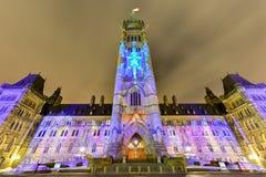 parlament kanady Obraz Stock