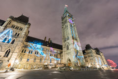 parlament kanady Fotografia Stock