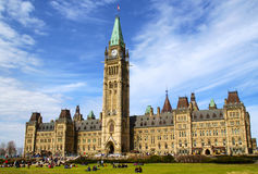 parlament kanady Zdjęcie Stock