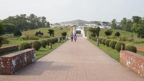 Parlament narodowy Bangladesz Fotografia Royalty Free