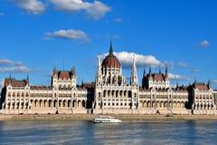 Parlament - od 2011 światowego dziedzictwa miejsca Zdjęcie Stock