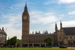 Parlament, opactwo abbey i Big Ben, obrazy royalty free