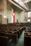 parlament polerad sejm Royaltyfria Bilder