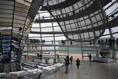 Parlament Reichstag de Berlim imagem de stock