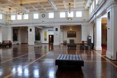 parlament s för konung för canberra korridorhus gammal royaltyfri bild