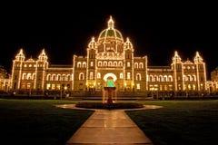 parlament s victoria Arkivbild