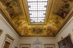 Parlament sala delegaci przy Assemblee Nationale, Paryż, Francja Obrazy Stock