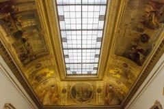 Parlament sala delegaci przy Assemblee Nationale, Paryż, Francja Fotografia Royalty Free