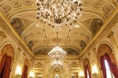 Parlament sala delegaci przy Assemblee Nationale, Paryż, Francja Zdjęcia Royalty Free