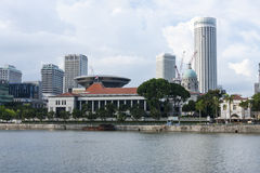 Parlament in Singapore, Royalty Free Stock Photo