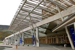parlament szkocki budynku. Obrazy Stock