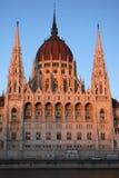 Parlament van Boedapest royalty-vrije stock afbeelding