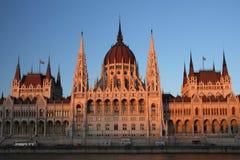 Parlament van Boedapest stock fotografie