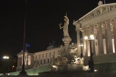 parlament vienna Arkivfoton