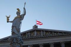 parlament Vienna Zdjęcia Royalty Free