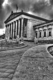 Parlament von Österreich, Wien Stockbild