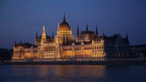 Parlament von Budapest stock video footage