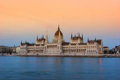 Parlament von Budapest Lizenzfreies Stockfoto