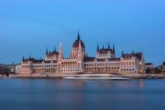 Parlament von Budapest Stockfoto