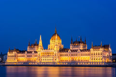 Parlament von Budapest Stockbild