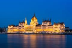 Parlament von Budapest Stockfotografie