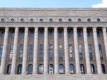 Parlament von Finnland Stockfotos