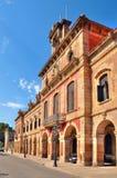 Parlament von Katalonien, Barcelona, Spanien lizenzfreie stockbilder