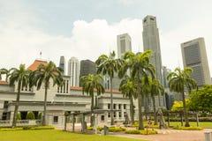 Parlament von Singapur Stockbild